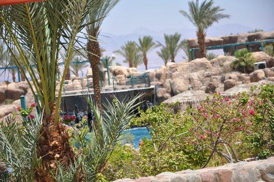 The Bay View Resort Taba Heights : vue piscine