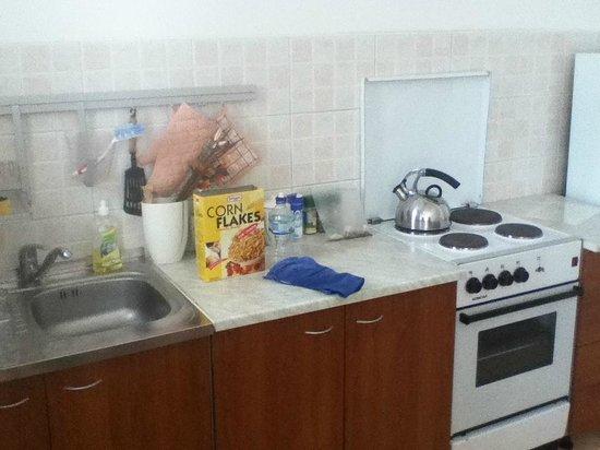 Apartments Lapad: Kitchen area
