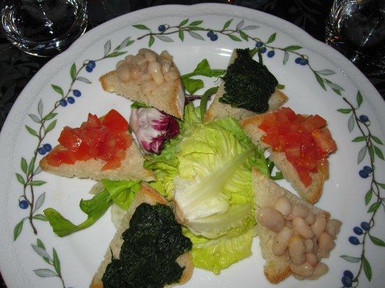 Villa Campestri Olive Oil Resort: Wonderful food!