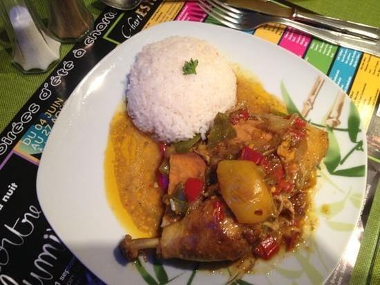 La Casa Tropical: Colombo poulet