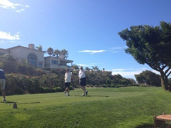 Dana Point, كاليفورنيا: boys loving it