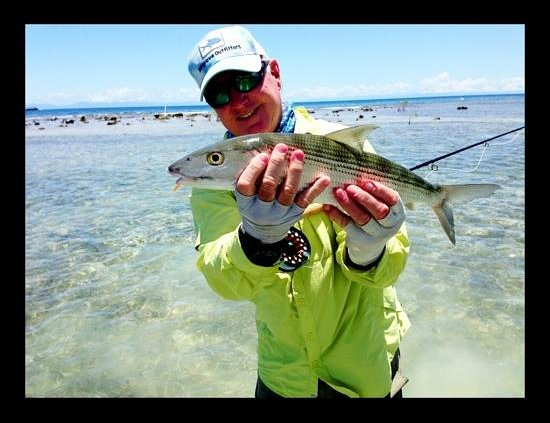 The Resort at Palmetto Bay: My first Bonefish on Roatan