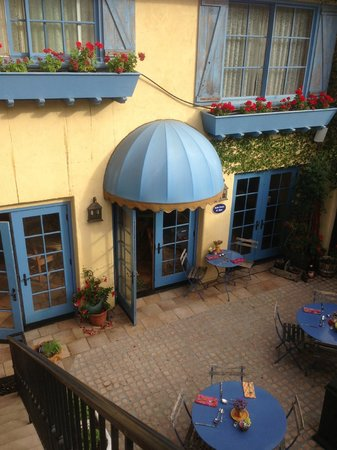 Petit Soleil, Bed and Breakfast: Overlooking Courtyard