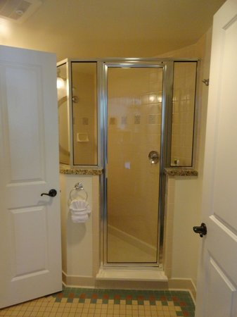 Shower stall in the bathroom - Picture of Disney\'s Saratoga Springs ...