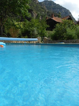 A l'Ombre du Fort : The pool