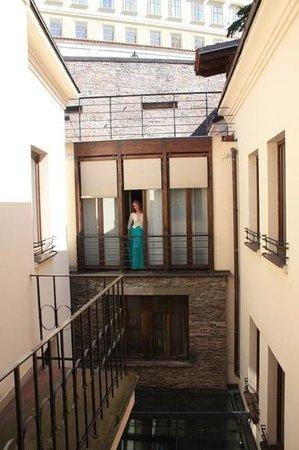 Design Hotel Neruda: окна нашего номера