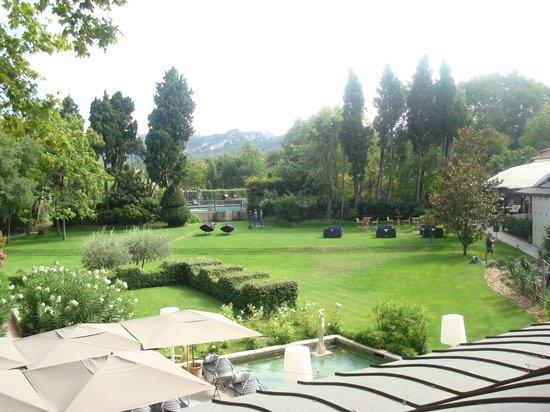 Hotel de l'Image : Vue de la terrasse