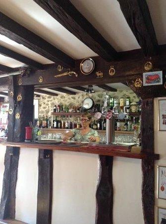 Le Vieux Soldat : The bar