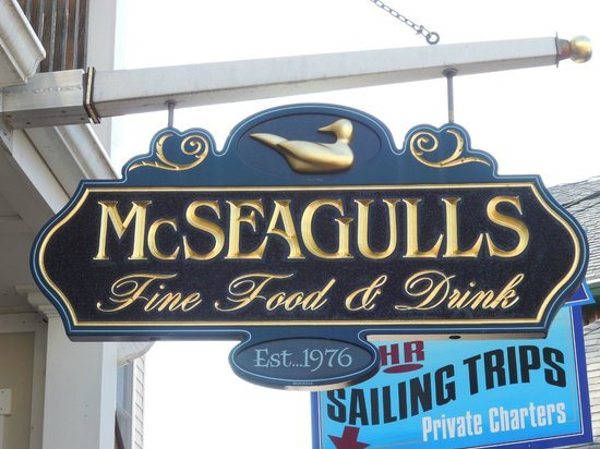 McSeagull's: Tasty food found here!