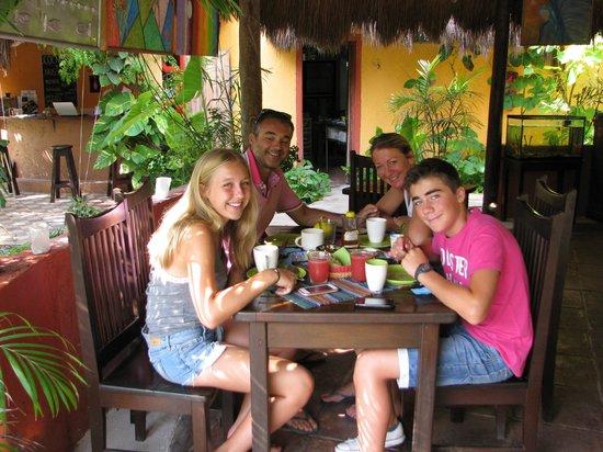 Don Diego de la Selva: Petit déjeuner