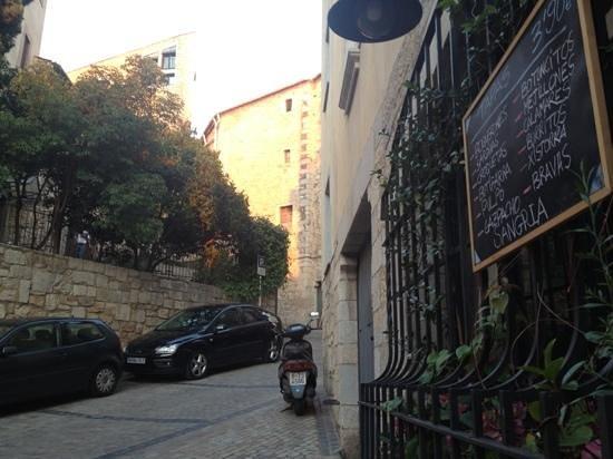 El Didal: вид со столика на терассе