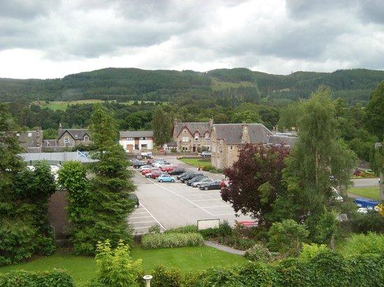 Craigroyston House and Lodge: schöne Aussicht aus unserem Zimmer