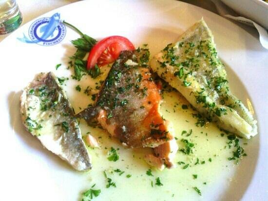 Schlick: Varied fish in butter and parsley
