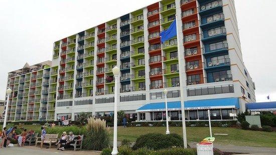 Best Western Plus Sandcastle Beachfront Hotel Vue Plage