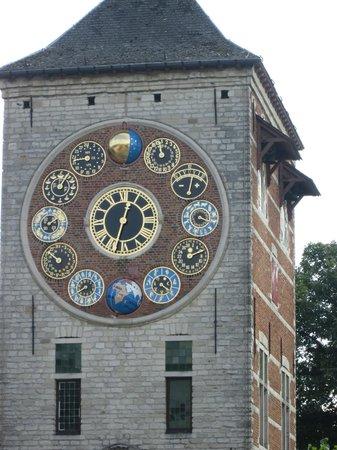 Begijnhof Lier: The astronomical clock
