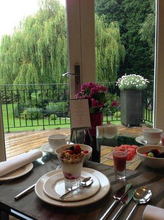 Kingsley Lodge: Lovely Breakfast!!!