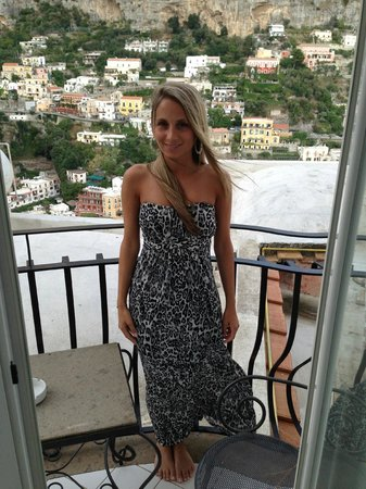 Hotel Villa Franca: Our balcony