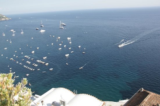 Hotel Villa Franca: Ocean view from pool