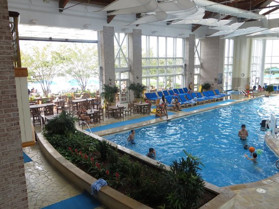 Hyatt Regency Chesapeake Bay Golf Resort Spa Marina The Indoor Pool