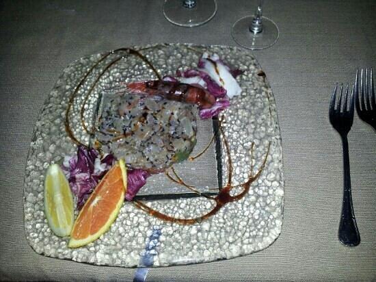 Ristorante Cavalluccio Marino : tartare di ricciola