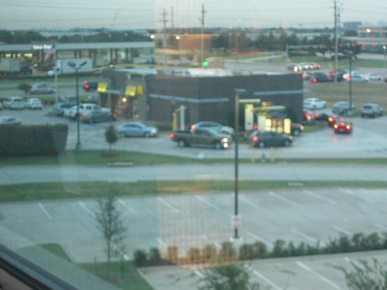 Element Dallas Fort Worth Airport North: View of McDonald's from my room