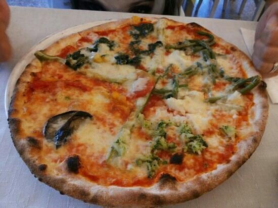 Pizzeria Desideria : Pizza verdure