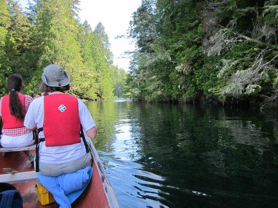 T'ashii Paddle School: PADDLING THE CANOE