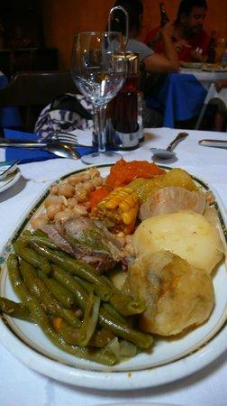 Restaurante El Carmen : Cocido canario