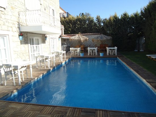 Alacati Roka Boutique Hotel: Restaurant / Pool