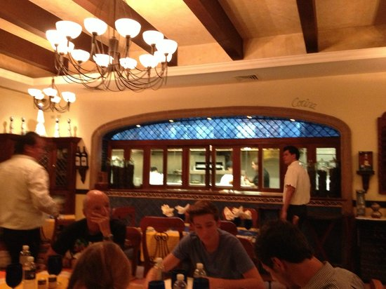 La Fonda: Restaurant dining room