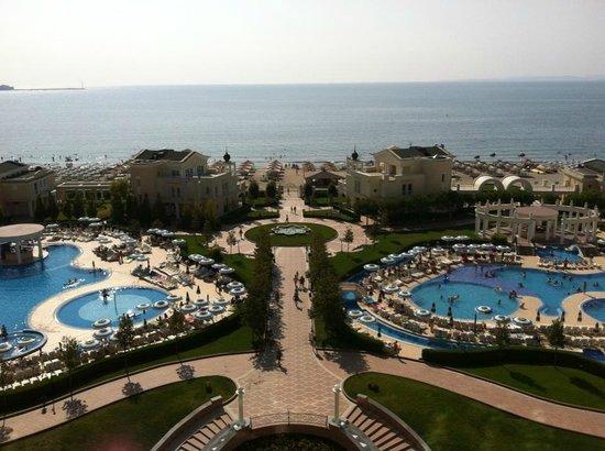 Sunset Resort: Vue mer (pour ceux qui ont la chance d'avoir cette vue)
