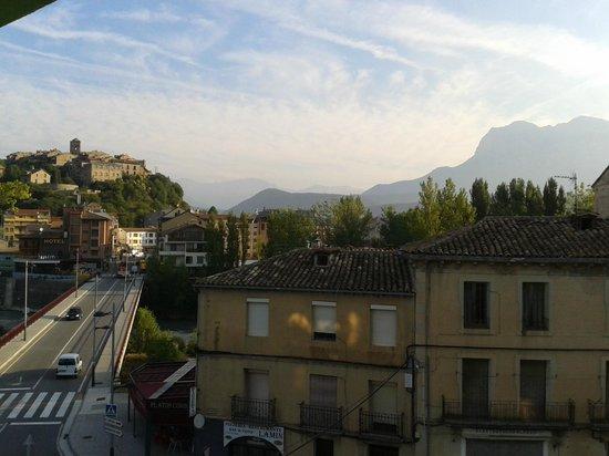 Hotel Meson L'Ainsa: la vue