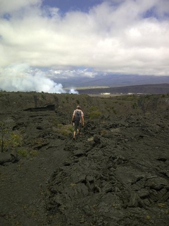 Native Guide Hawaii: On the way to the crater