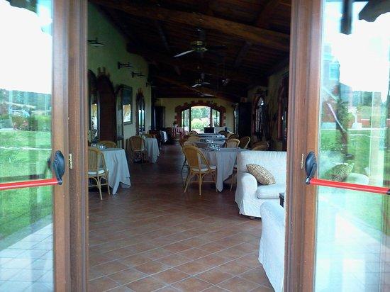 Country Villas Fattoria Le Guardiole: Interno ristorante