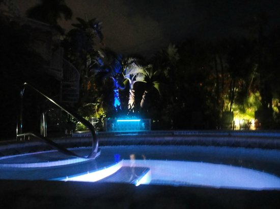 Hotel Lush Royale: Pool at night