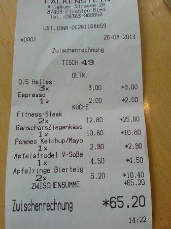 Braugasthof Falkenstein: totale