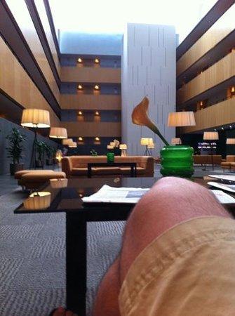 Tryp Barcelona Aeropuerto Hotel: hall