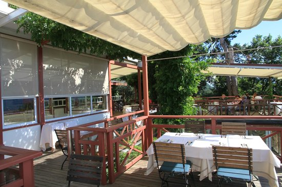 Relais & Chateaux Hotel Castel Fragsburg: Terrasse
