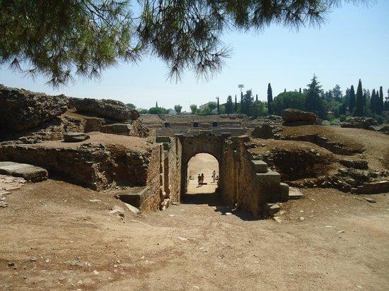 Anfiteatro Romano de Merida: Amfiteatro romano