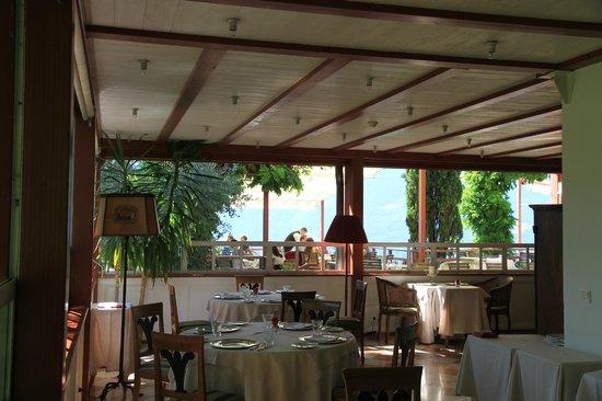 Relais & Chateaux Hotel Castel Fragsburg: Le restaurant extérieur