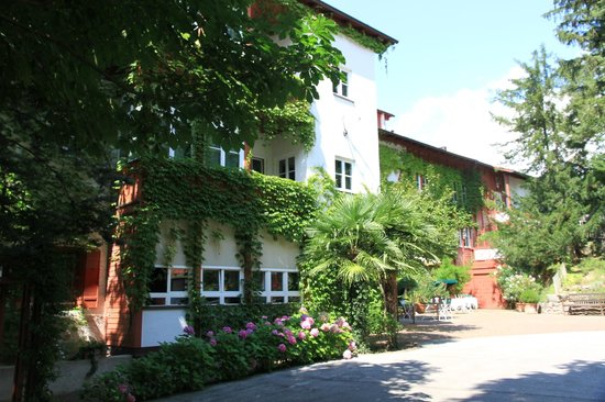 Relais & Chateaux Castel Fragsburg: La cour d'entrée