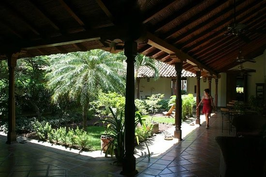 Hotel Patio del Malinche: Patio
