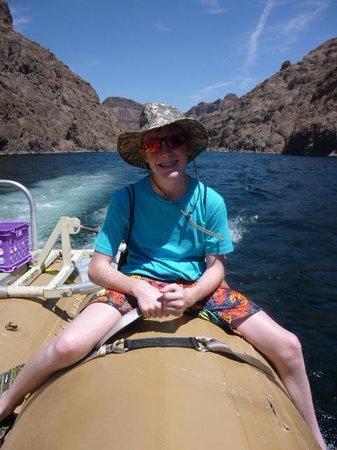 Black Canyon River Adventures: Arthur cruisin' the Colorado
