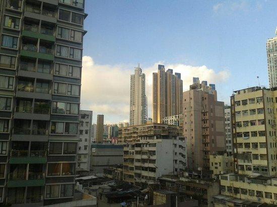 Metropark Hotel Mongkok: View from Metropark Mongkok room #0806.