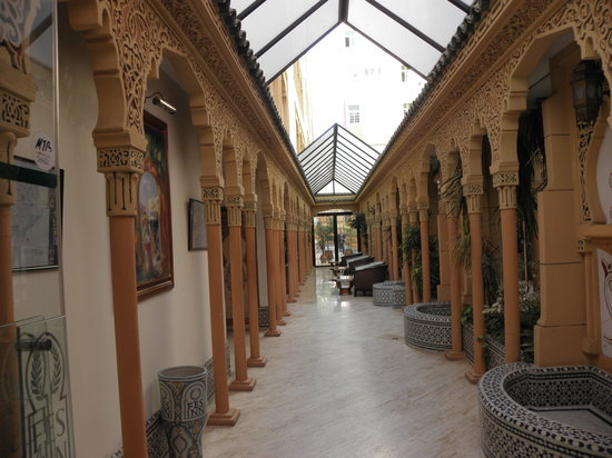 Hotel Fes Inn - Sodetel : lobby area