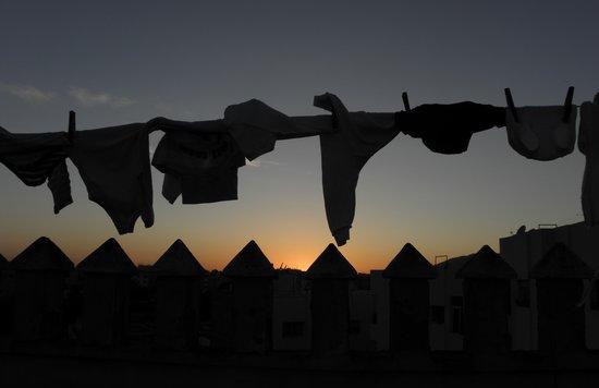 Hotel Fes Inn - Sodetel: sunset from the roof