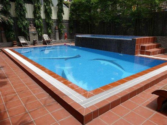 Eureka Villas Phnom Penh: La piscine