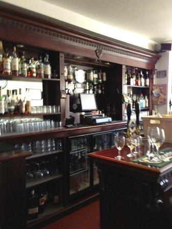 Aberdour Hotel & Restaurant: The barkeep's domain