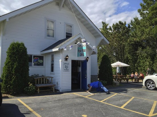 Mike's Port Pub & Grill: Summer's almost gone, time for new weather-stripping