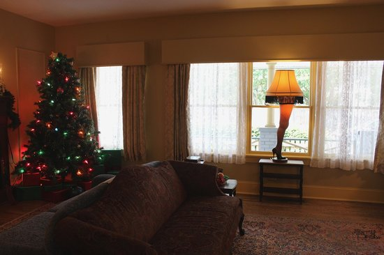 The Old Living Room Picture Of A Christmas Story House Cleveland Tripadvisor
